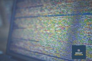 ekranda yazılım kodları