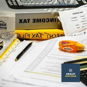 vergi hesaplaması malzemeleri