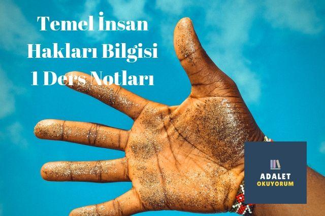 aöf temel insan hakları 1 ders vize final notları